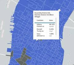 2016 Presidential Election Map Here U0027s How Every Nyc Neighborhood Voted In The 2016 Presidential