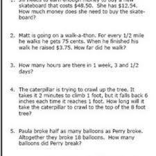 3rd grade math word problems problems for 3rd grade kelpies