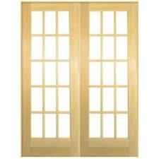 Home Depot French Doors Interior by Reliabilt 48 In X 80 In White 3 Lite Interior Sliding Door Set