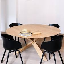 Circle Dining Table Oak Circle Dining Table Ethnicraft Palette