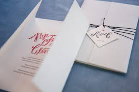Wedding Invitations Kerry Kerry Cuyler U0027s Modern Calligraphy Wedding Invitations