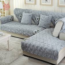 Gray Sofa Slipcover by Online Get Cheap Long Sofa Slipcovers Aliexpress Com Alibaba Group