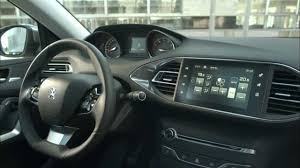 peugeot wagon the new peugeot 308 station wagon interior design automototv