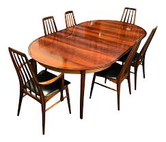 rosewood dining room furniture rosewood dining set by koefoeds hornslet 5452