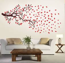 new way decals wall sticker floral u0026 botanical wallpaper price in