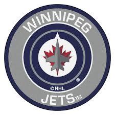 Nhl Area Rugs Fanmats Nhl Winnipeg Jets Gray 2 Ft 3 In X 2 Ft 3 In