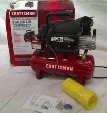 Craftsman 3 Gallon Air Compressor Snap On Tools Oil Less 3 Gallon Portable Air Compressor Tank With
