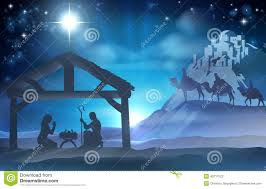 nativity christmas scene stock vector image 45717522