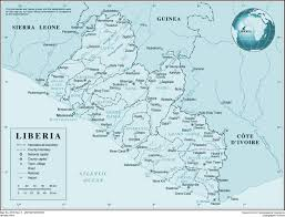Liberia Map Large Detailed Political And Administrative Map Of Liberia With