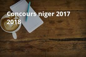 Niger 2017 2018 Bourse Cuba Concours Niger 2017 2018 Jpg