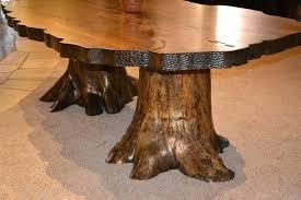 tree stump table base tree trunk table base modern tree stump dining tables dining table