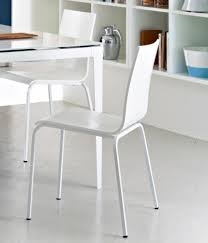 domitalia elsa modern dining kitchen chair in white lacquer or wenge