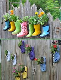 Backyard Fence Decor Gallery 8 outdoor fence decor ideas 13 best