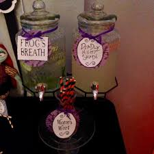 nightmare before christmas halloween party ideas photo 3 of 16