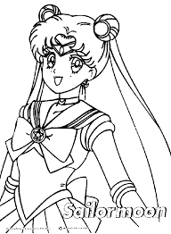 cartoons coloring pages sailor moon coloring pages
