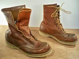 hudson bay s boots vintage hudson bay herter s brown leather sport leather