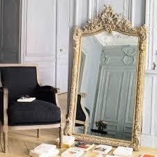 Spiegel Home Decor by Goudkleurige Kunststof Conservatoire Spiegel H 153 Cm Maisons Du