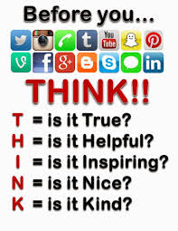Think Before You Text Your - how to protect personal information online school education