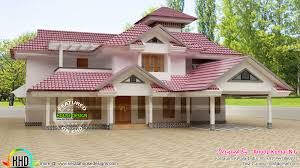 new slope roof house plan kerala home design and floor plans roof