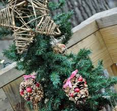 bird seed ornaments all things and home
