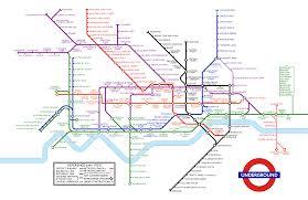 Underground Map I Recreated A 1933 Underground Map London