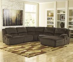 Marlo Furniture Rockville Maryland by Signature Design By Ashley Toletta Chocolate Reclining Sectional
