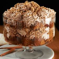 pumpkin toffee crunch trifle trifles toffee