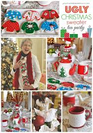 How To Decorate An Ugly Christmas Sweater - ugly christmas sweater tea party ugliest christmas sweaters and