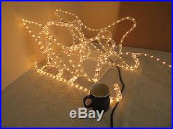 Christmas Rope Lights Nz by Christmas Decor World Blog Archiv Large Reindeer With Sleigh