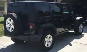 2008 jeep wrangler rubicon jeep wrangler rubicon 4 door mint condition stock hardtop black