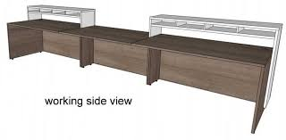 Two Person Reception Desk Arnold Reception Desks Inc Reception Desks Custom With Custom
