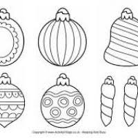 christmas decorations to colour in christmas decor and light