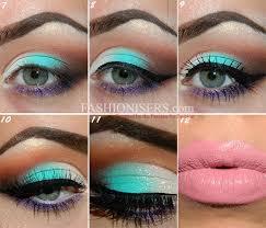 energizing mint green makeup tutorial fashionisers