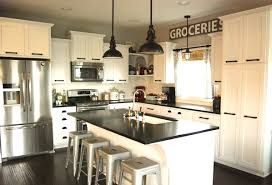 Contemporary Kitchen Decorating Ideas by Mix It Up Rustic Modern Kitchen Design Hayneedle Blog