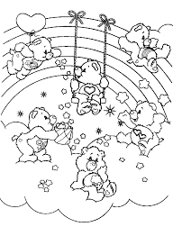 care bears coloring care bears bears