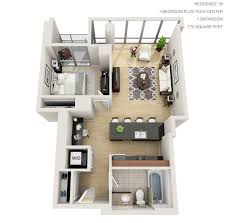1 bedroom 1 bathroom house park lafayette towers apartments by mandel group milwaukee area