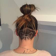 nape of neck hair cut for women the undercut is the fit girl hair trend you need to try for summer
