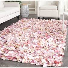 Pink Area Rug Safavieh Handmade Decorative Shag Pink Area Rug 4 X 6