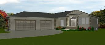 Garage Style Homes U Shaped House Plans 3 Car Garage Luxihome