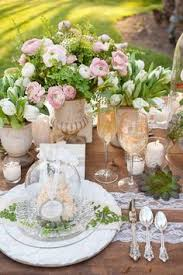 neutral dinner table settings ideas for dinner table party