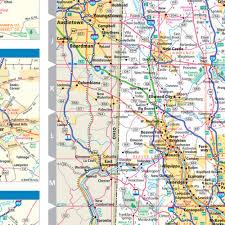 pennsylvania state map rand mcnally pennsylvania state wall map