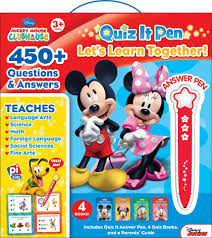 disney junior mickey mouse clubhouse quiz it pen activity book