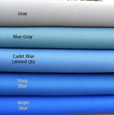 Bright Blue Curtains Resistant Curtains Valances
