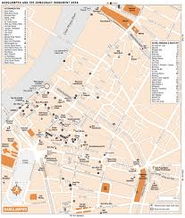 bangkok map tourist attractions banglhu map bangkok
