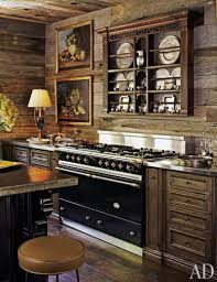 rustic glass kitchen cabinets 29 rustic kitchen ideas you ll want to copy architectural