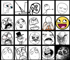 Internet Meme Faces - the periodic table of memes rage faces humor meme the mary sue