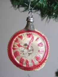 1930s premier glass indent ornaments vintage