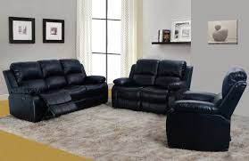 3 piece recliner sofa set 3 piece black bonded leather recliner set golden coast furniture