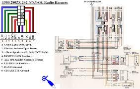 radio wiring nissan 300zx gll radio wiring diagrams