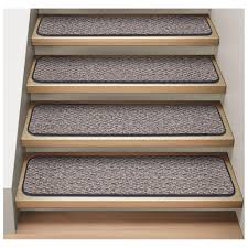 carpet stair treads peel and stick carpet stair treads diy